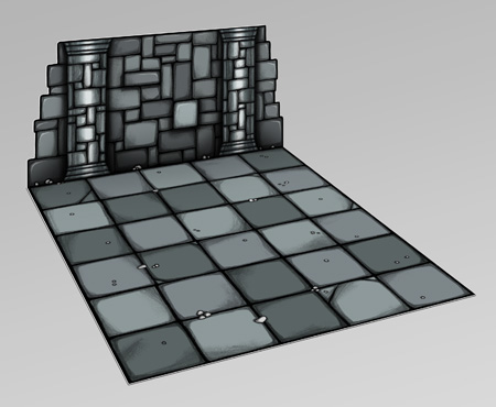 Modular dungeon room