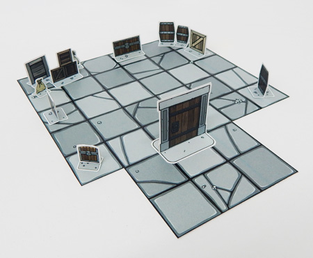Papercraft dungeon